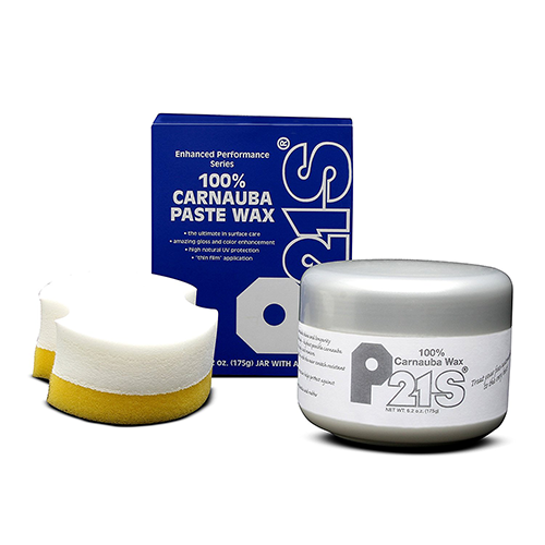 p21s 100% carnauba paste wax premium auto care set